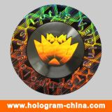 Silvery 3D Security Hologram Label Sticker