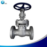 API 600 Cast Steel Bolted Bonnet Stellite Trim OS&Y Flanged End Double Disc Wedge Gate Valve