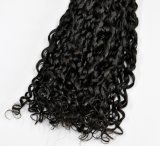 Brazilian Super Double Drawn Virgin Human Hair Weft (Bouncy Curly or Smooth Curly)