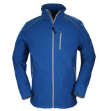 Man Wholesale Cheap Fashion Customized Zip-up Windstopper Waterproof Soft Shell Jacket OEM Outdoor Sports Wear Windproof Jacket