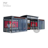 High Quality Stainless Steel & Glass Panel Advertising Bus Shelter Advertising
