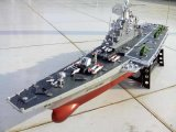 1/275 Scale RC Boat Radio Remote Control Aircraft Carrier