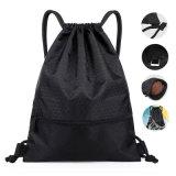 Cheap High Quantity 1680d Recycled Heavy Duty Nylon Drawstring Backpack Bag