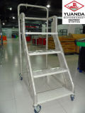 Metal Rolling Ladder Truck for Sale