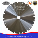 600mm Laser Blades for Wall Saws, Reinforced Concrete Saw Blade