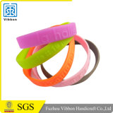 Custom Cheap Wholesale Price Mixed Color Silicone Wristband