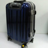 """Low MOQ PC Material 20""""24""""28"""" Aluminum Frame Rolling Luggage Suitcase Bag, Customized Trolley Case for Travel"""