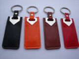 New! Key Shape USB Drive with Keychain and Leather Case Packing