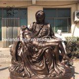 Home Decoration Garden Factory Price Church Bronze Statue Life Size Bronze Pieta Sculpture Bfsy-012