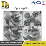 OEM Stainless Steel Casting Closed Impeller and Open Impeller