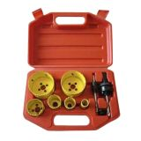 6PCS HSS M42 Bi Metal Hole Saw Set (JL-BMHS6)