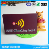 Custom Anti Hacking RFID Blocking Card for Bank Card Protection