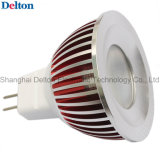 3W Dimmable Customized Colorful MR16 LED Spot Light (DT-SD-016B)