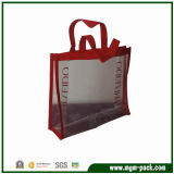Sample Fashion Design Popular Rectangle Plastic Shopping Handbags