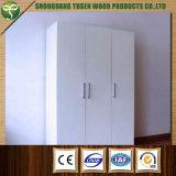 Wood Material Three Doors Wardrobe