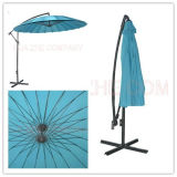 10FT Fiber Glass Garden Parasol Banana Umbrella