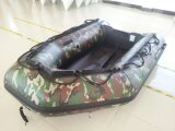 Aluminum Floor Inflatable Boat in Camouflage Color