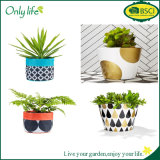 Onlylife BSCI Direct Selling Fabric Planter Household Flower Pot Cover