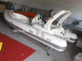 19feet 5.8m Luxury China Rib Boat, Outboard Boat Inflatable Rigid Boat, PVC or Hypalon Boat