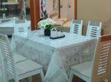 Transparent Fancy Table Cloth PVC Table Cover