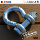 Matel Drop Forged G2130 Crane Sling Anchor Shackle with Bolt