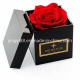 Custom Waterproof Clear Acrylic Plastic Flower Rose Jewelry Chocolate Shoe Wedding Candy Honor Display Box