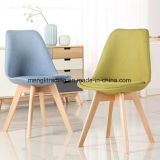 Colorful Customized Plastic Chair with PU Cushion