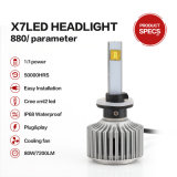 880 6000k 40W 3600lumens LED Headlight Bulbs for Cars