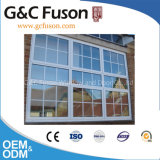Aluminium White Color Single Hung Window with Refletive Glass
