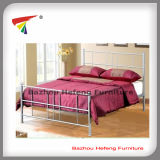 Wholesale New Design Metal Double Bed/Queen Size Bed (HF068)