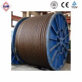 35*7W Wire Rope for Tower Crane