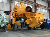 2018 New Design 56kw Lovol Diesel Engine Concrete Mixing Pump All in One