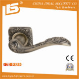 Zamak Door Handle with Rose (ZK-F5854)