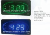 LED Display Second Rolling Mobility Controlled Alarm Wall Clock