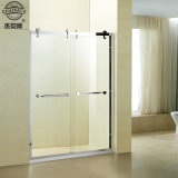 8mm Tempered Glass Stainless Steel Sliding Shower Room Ce Approved