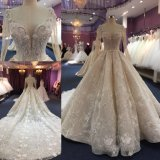 Custom Made Lace Ball Prom Ladies Women Dresses Bridal Gown Wedding Dress Wgf1712-32