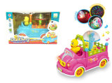 Kids Mini Cartoon Toy Battery Operated Car with Music (H0278073)