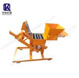Top Quality Qts2-40 Manual Interlocking Clay Brick Making Machine