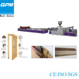 WPC Hollow Foamed Door Profile Extrusion Line