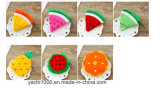 Custom Plush Fruit Soft Toy Coin Purse Bag for Kids