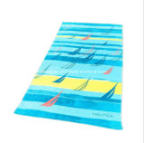 100% Cotton Competitive Price Velour Printed Bath Towel Beach Towel