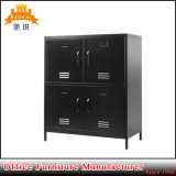 Metal Home Furniture Steel Storage Cabinets with 4 Doors