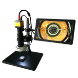 0.7-5X Monocular Lab Video Microscope for Research