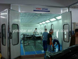 Reinforced Steel Made Auto Downdraft Spray Booth Industrial Paint Booth