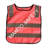 Bright Color Children's Reflective Safety Vest for Kids Outdoor Wear