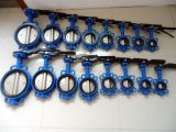 Double Disc Wafer Butterfly Valve