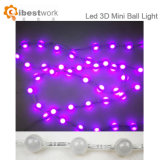 LED Globe String Lights Slow Flashing Multi Color Ball String