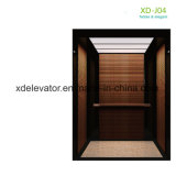 Small Machine Room Passenger Elevator with Hairline Stainless Steel