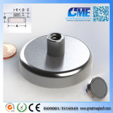 Strong N40 D50.8xh24mm High Quality NdFeB Potn08 Magnet