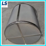 Filter Tube in Stainless Steel Wire Mesh and Perforated Metal